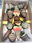 Picture of Chocolate Dipped Fruit Platter Medium