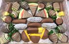 Picture of Chocolate Dipped Fruit Platter Large